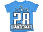 Tennessee Titans Chris Johnson Outerstuff NFL Toddler Big Number T-Shirt T-Shirts