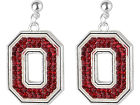 Ohio State Buckeyes NCAA Rhinestone Earrings Jewelry