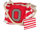 Ohio State Buckeyes Canvas Striped Sling and Wristlet Apparel & Accessories
