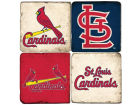 St. Louis Cardinals Italian Marble Coasters 4 Pack Kitchen & Bar