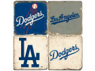 Los Angeles Dodgers Italian Marble Coasters 4 Pack Kitchen & Bar