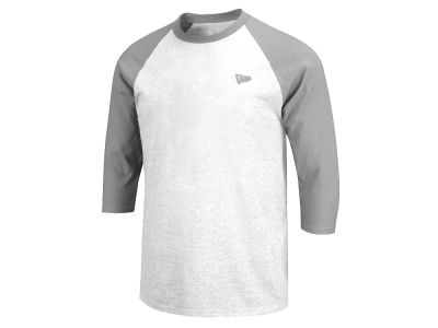 New Era Branded Long Sleeve Raglan T-Shirt