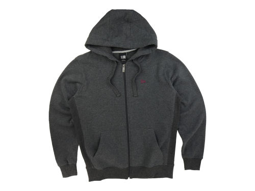 New Era Branded Zip Through Hoodie