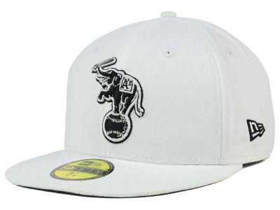 Oakland Athletics MLB White And Black 59FIFTY Cap Hats