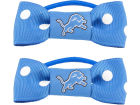 Detroit Lions Little Earth Bow Pigtail Holders Apparel & Accessories