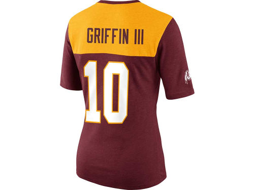 Washington Redskins Robert Griffin III Nike NFL Womens My Player Name and Number Top