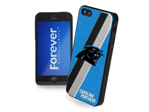 Carolina Panthers Forever Collectibles iPhone SE Case Hard Logo