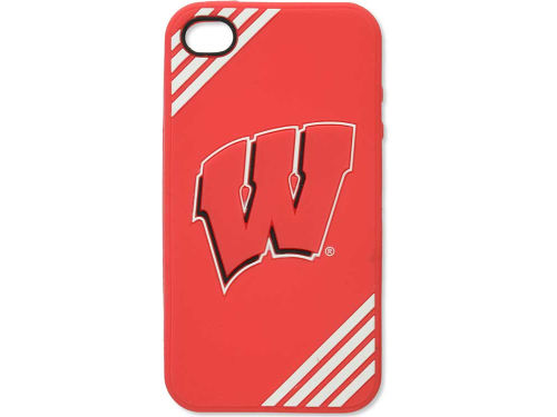Wisconsin Badgers Forever Collectibles IPhone 4 Case Silicone Logo