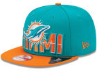 Miami Dolphins New Era NFL 2013 Draft 9FIFTY Cap Adjustable Hats