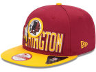 Washington Redskins New Era NFL 2013 Draft 9FIFTY Cap Adjustable Hats