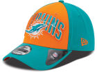 Miami Dolphins New Era NFL 2013 Draft 39THIRTY Cap Stretch Fitted Hats