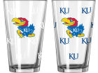 Kansas Jayhawks 16oz Color Changing Pint Glass Gameday & Tailgate