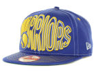 Golden State Warriors New Era NBA Hardwood Classics Double Double Snap 9FIFTY Cap Adjustable Hats