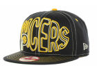 Indiana Pacers New Era NBA Hardwood Classics Double Double Snap 9FIFTY Cap Adjustable Hats