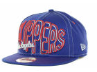 Los Angeles Clippers New Era NBA Hardwood Classics Double Double Snap 9FIFTY Cap Adjustable Hats