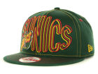 Seattle SuperSonics New Era NBA Hardwood Classics Double Double Snap 9FIFTY Cap Adjustable Hats