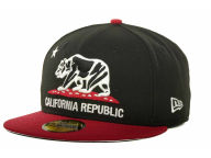California California Republic 59FIFTY Cap Fitted Hats