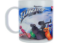 Turbo Turbo Sublimated Plastic Kids Mug Holiday
