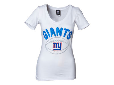 New York Giants NFL Womens Baby Jersey Football T-Shirt
