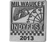 Milwaukee IndyFest Event Pin 2013 Pins, Magnets & Keychains