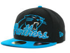 Carolina Panthers New Era NFL Script Down 59FIFTY Cap Fitted Hats