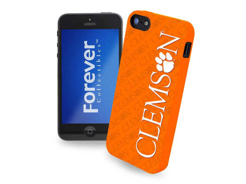 Clemson Tigers Forever Collectibles IPHONE 5 CASE SILICONE LOGO