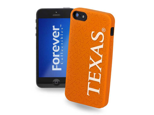 Texas Longhorns Forever Collectibles iPhone SE Case Silicone Logo