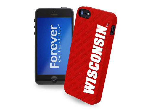Wisconsin Badgers Forever Collectibles iPhone SE Case Silicone Logo