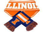 Illinois Fighting Illini Forever Collectibles 2013 Wordmark Acrylic Knit Scarf Apparel & Accessories