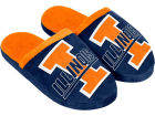 Illinois Fighting Illini Forever Collectibles Mascot Slide Youth Slippers Bed & Bath