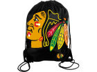 Chicago Blackhawks Forever Collectibles Big Logo Drawstring Backpack Luggage, Backpacks & Bags