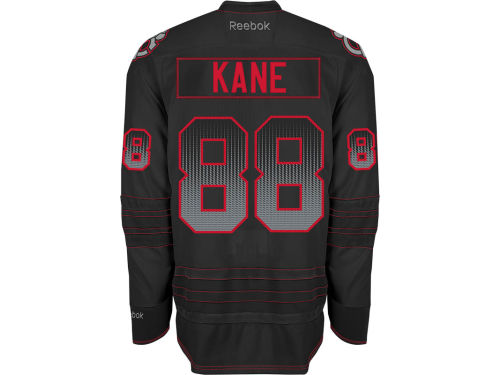 Chicago Blackhawks Patrick Kane Reebok NHL Black Ice Jersey