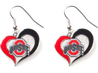 Swirl Heart Earrings Apparel & Accessories