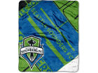 Seattle Sounders FC Northwest Company 50x60in Plush Throw Blanket Bed & Bath