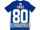 New York Giants Victor Cruz Outerstuff NFL Youth Big Number T-Shirt T-Shirts