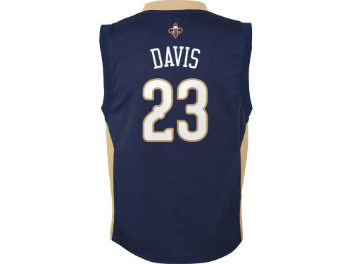 New Orleans Pelicans Anthony Davis adidas Youth NBA Revolution 30 Jersey