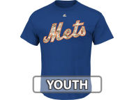 Majestic MLB Youth Camo Wordmark T-Shirt T-Shirts