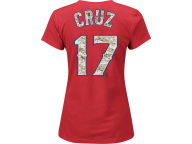 Majestic MLB Womens Camo Player T-Shirt T-Shirts