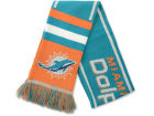 Miami Dolphins Forever Collectibles 2013 Wordmark Acrylic Knit Scarf Apparel & Accessories