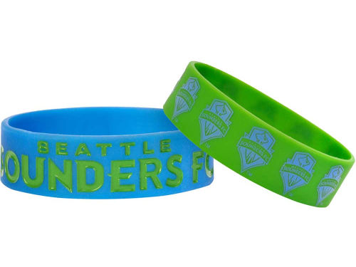 Seattle Sounders FC Team Beans 2-pack Phat Bandz
