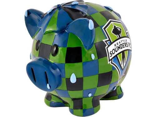 Seattle Sounders FC Forever Collectibles Mini Thematic Piggy Bank - MLS