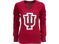 NCAA Womens Wishbone Long Sleeve Vneck T-Shirt T-Shirts
