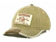 True Religion TR Linen Buddha-Patch Cap Adjustable Hats