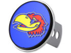 Kansas Jayhawks Rico Industries Laser Hitch Cover Auto Accessories