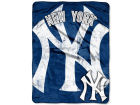 New York Yankees Micro Raschel Blanket Bed & Bath