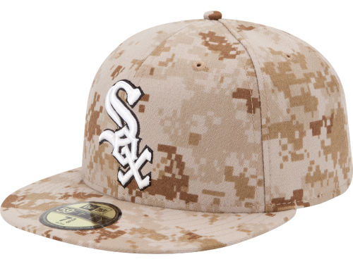 Chicago White Sox New Era MLB 2013 Memorial Day Stars & Stripes 59FIFTY Cap Hats