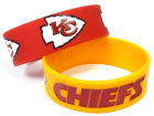 Kansas City Chiefs Aminco Inc. 2-pack Wide Bracelet Gameday & Tailgate