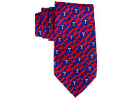 MLB Checked Woven Poly Tie Apparel & Accessories