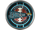 Jacksonville Jaguars Chrome Clock Bed & Bath
