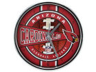 Arizona Cardinals Chrome Clock Bed & Bath